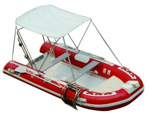 25HP Motor Inflatable Fishing Boats Rigid Hull Inflatable