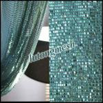 Decorative Metal Sequin Fabric for room divider