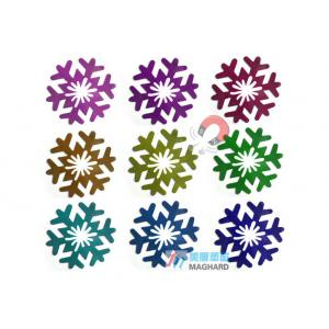 China Make Your Own Christmas Magnets / Snow Personalized Fridge Magnet for Home Decoration on sale