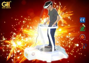 China Comfortable Electric Vibrating VR Theme Park / 9D VR Cinema on sale