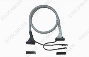 China FIX To FIX LCD LVDS Cable Assembly Soldered To Ground Cable 28awg on sale
