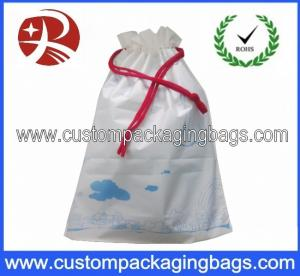 China Custom PEVA Drawstring Plastic Bags Light Weight For Sport , shopping on sale