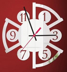 Wholesale New 3d Unique Design Wall Clock Home Decoration