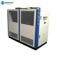 China PVD Vaccum Coating Machine Cooling Industrial Air Cooled Water Chiller 20 tr on sale