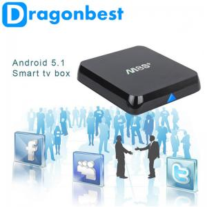 China Android 5 . 1 4k Tv Box M8S plus with Gigabit RJ45 2g 8g A9 on sale
