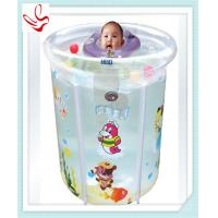 Personalized Summer Baby Inflatable Swimming Pools With Double Bottom
