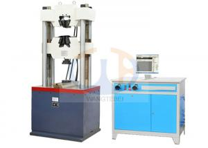 China Windows Based Interface Hydraulic Tensile Testing Machine , Mechanical Testing Equipment on sale