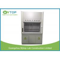 China Scratch Resistant Laboratory Fume Hood 4ft For Chemical Harmful Gas Exhausting on sale