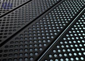 China Attractive Perforated Metal Sheet Stainless Steel Perforated Plate with Oxidation on sale