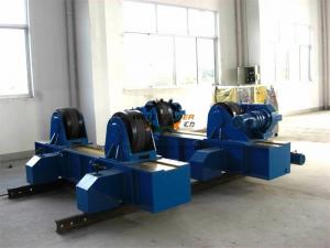 China Adjustable Pipe Welding Rollers For Cylinder Rotation 80 Ton Loading Capacity on sale