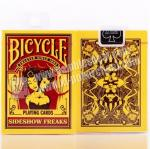 Poker Cheat Bicycle Sideshow Freak Invisible Playing Cards Yellow Color