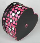 Colorful Heart Shape Paper Box Packaging Apply To Valentine 's Day Gift