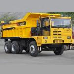 CT890 Off - Road Heavy Duty Dump Truck For Mining 50 Ton Euro 3 / 6X4 Dump Truck