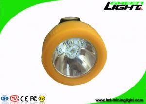 China IP68 10000lux strong brightness  cordless mining lights with magnetic USB charger and charging indication on sale