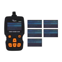 China Vgate VS890 Updated Version VS890S OBD2 Scanner Auto Code Reader Multi-language OBDII OBD2 Car Diagnostic Tool on sale