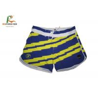 Girls Recycled Board Shorts For Swimming , Outdoor Sports Board Shorts Custom Beachwear