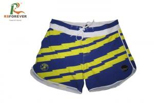 China Girls Recycled Board Shorts For Swimming , Outdoor Sports Board Shorts Custom Beachwear on sale