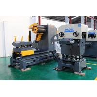 Material Rack Unwinding Device Decoiler Straightener Feeder 3 In 1 Stamping Automation