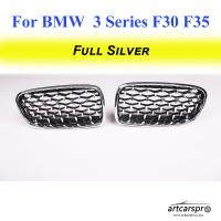 China High Performance BMW Grill Replacement For BMW 3 Series F30 F35 2013 - 2018 Meteor Style Car Bumper Grill on sale