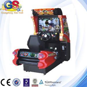 China 2014 4D simulator arcade racing car game machine, 3d video car racing game machine on sale