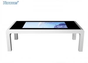 China 42  Kiosk Touch Screen Monitor Table Style , LCD Digital Signage Display Network on sale