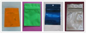 China Snack Bag Packaging , 100% Recycle Flat or Stand up PPET / AL / PE Mylar Food Bags on sale