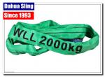 Single Ply Round Endless Sling Heavy Duty Recovery Straps With Logo Printed
