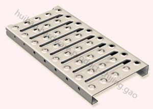 China Lock Interlocking Metal Safety Grating FM Type For Catwalk And Stair Treads on sale