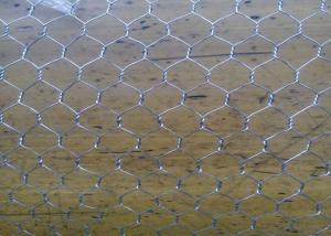 China Galvanized Woven Chicken Mesh Wire Fencing 1 / 2  For Ducks / Gooses on sale