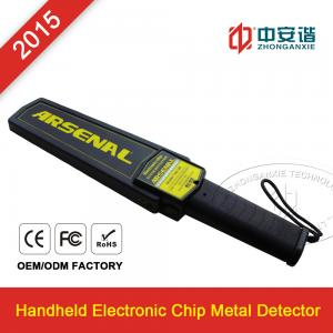 China Railway Station / Airports Small Hand Held Metal Detector For Personal Security Inspection on sale