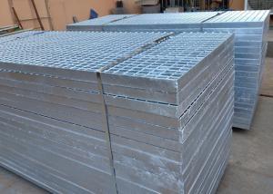 China 58*5 Heavy Duty Steel Grating / Steel Walkway Grating For Deck Plain Bar on sale