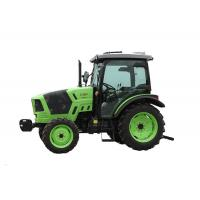 Customised Green Small Diesel Tractor , 4 Wheel Drive Agriculture Mini Tractor
