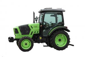 China Customised Green Small Diesel Tractor , 4 Wheel Drive Agriculture Mini Tractor on sale
