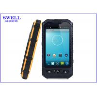 China Professional Yellow Rugged Handheld Computer with Wifi FM Radio A8 on sale