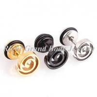 O-Rings Fake Plug Earrings / Party Laser Cut Steel Fake Tunnels