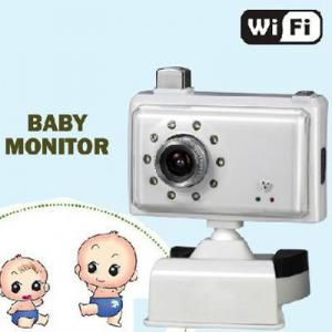 China WiFi wireless security camera baby monitor ADPCM Audio compression IP camera for IPAD IPHONE on sale