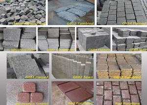 China Outdoor Garden Natural Paving Stones Basalt Cobble Stone Raw Material on sale