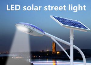 China Solar Powered Street Lamp High Pressure Die - Casting Aluminum , Commercial Solar Street Lights 3000 - 6500K on sale
