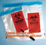 Biohazard garbage/trash bag for infecciosas/hospital use, biohazardous waste bag