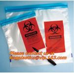 Biohazard garbage/trash bag for infecciosas/hospital use, biohazardous waste bag