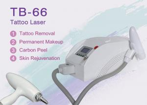 China Hospital Q Switch ND YAG Laser Tattoo Removal Equipment 1064nm / 532nm on sale