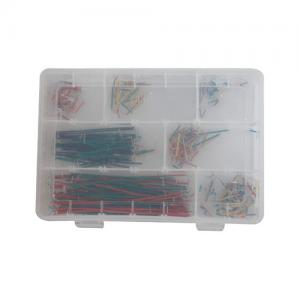 China Electronic Project Starter Kit 350 Pcs 22 AWG Solid Core Jumper Wires on sale