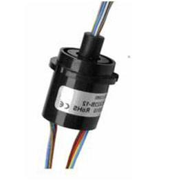 China 0.1m Ω Rotating Electrical Connector Slip Ring? 22mm OD Small Size Automatic Arm on sale