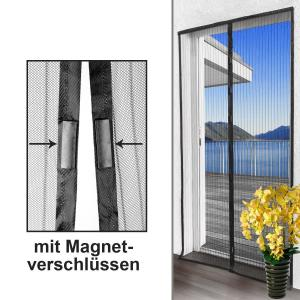 China Folding Breathable Magnetic Screen Door Curtain For Immediate Opening on sale