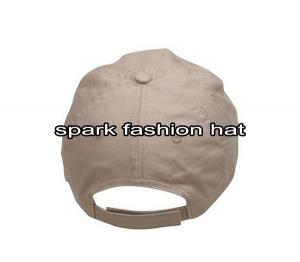 Quality Custom stone washed baseball cap for sale