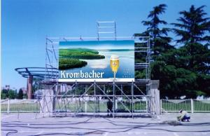 China Waterproof  P10 DIP Module Advertising LED Signs Outdoor LED Display Video Panels on sale