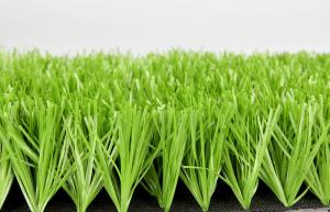 China Green Pp Woven Football Artificial Grass For Outdoor Soccer Courts 50mm Dtex9500 on sale