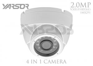 China High Definition 1080P 4 In 1 Dome Camera 3.6mm Lens For Supermarket / School on sale