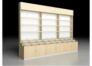 China Beautiful Practical Pharmacy Display Racks For Health Care Products / Western Drug on sale