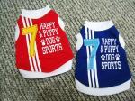 T-shirt 100% de chien personnalisé par sports frais de coton pour le mini Schnauzer